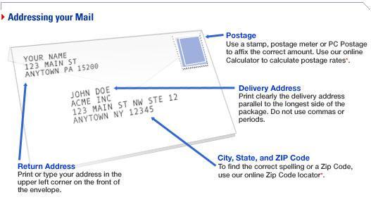 Where To Put Return Address On Letter.Cover Letter Address On Envelope