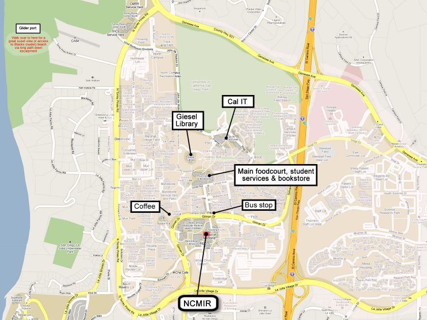 Ucsd Campus Map Pictures to Pin on Pinterest PinsDaddy