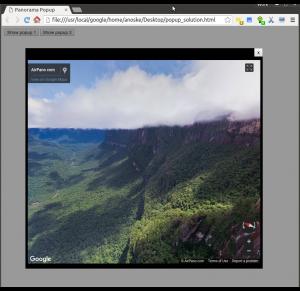 Google Maps API - Street View Panorama Popup Window - NoskeWiki